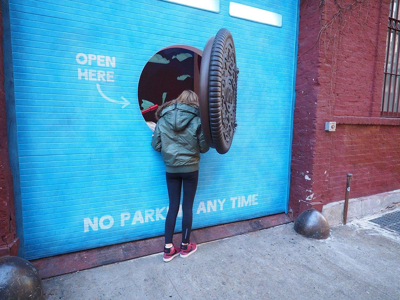 Oreo open here