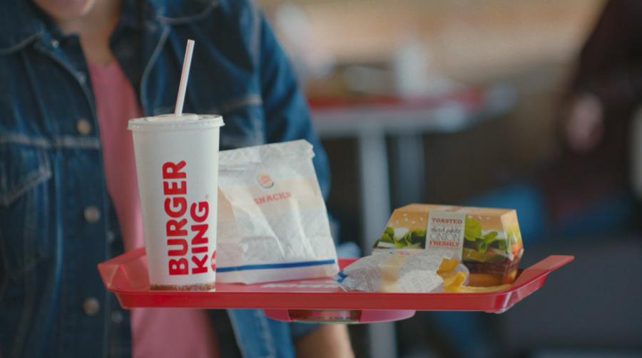 Burger King Hovertray