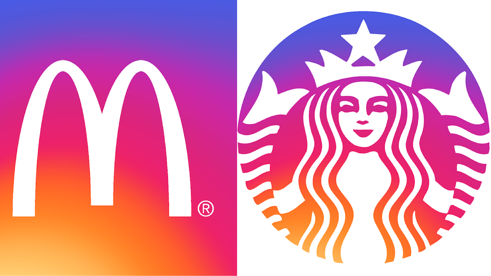Logos marques version Instagram